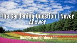 garden question
