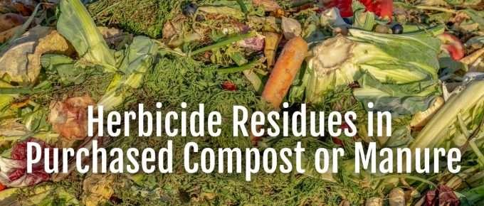 herbicide residues
