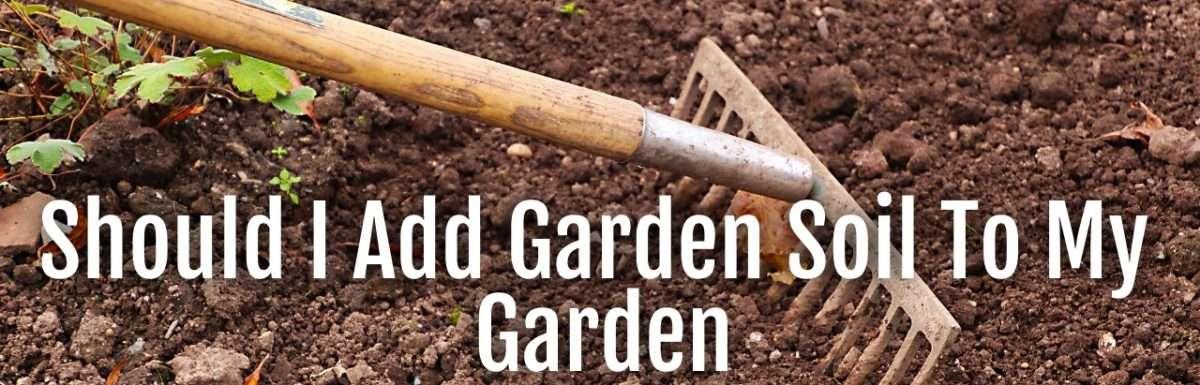 add garden soil